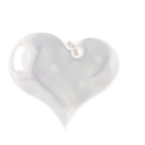 Reflector Heart White