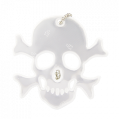 Reflector Jolly Roger White