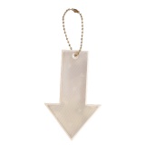 Reflector Arrow white, Karin Mannerstal