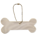 Reflector Dog bone white, Karin Mannerstal