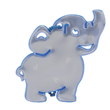 Reflector Elephant Blue