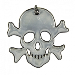 Reflector Jolly Roger Black