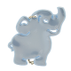 Reflector Elephant light blue
