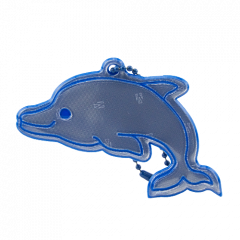 Reflector Dolphin Blue