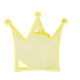 Reflector Princess Crown Yellow