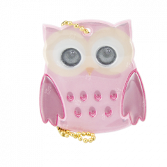 Reflector Owl Pink