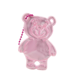 Reflector Teddy light pink