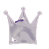 Reflector Princess crown light purple
