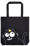 Ed the Cat Shopping Bag - Crown (Cotton)