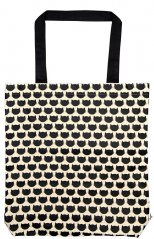 Ed the Cat Shopping Bag - Cats all over (Cotton)