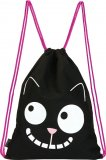 Ed the Cat Bag - Smile with reflector print