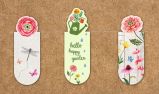 Magnetic Bookmark Garden