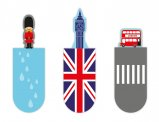 Magnetic Bookmark London
