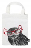 Bag small Owl (Cotton)