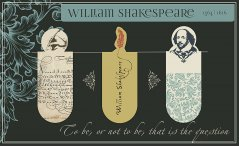 Magnetic Bookmark Shakespeare