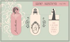 Magnetic Bookmark Jane Austin