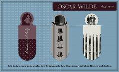 Magnetic Bookmark Oscar Wilde