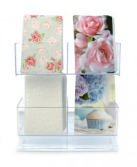 Display Stand 2+2-compartments