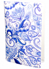 Paisley bright blue