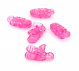Plastic Clips Pink
